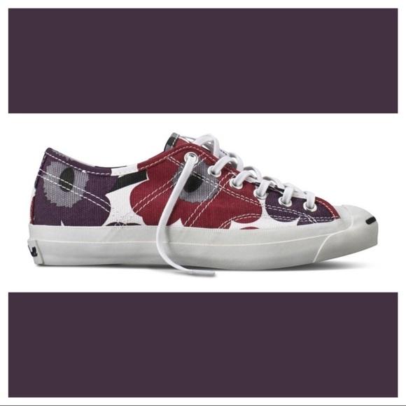 timeless design fbaaf 532a9 Converse Shoes - Converse Jack Purcell Helen Marimekko 6.5 EUC